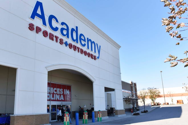 Academy Sports + Outdoors is hoping to see good foot traffic on Black Friday. But like many stores, it also has made adjustments to continue serving those who don't want to fight large crowds or go out shopping during the COVID-19 pandemic.