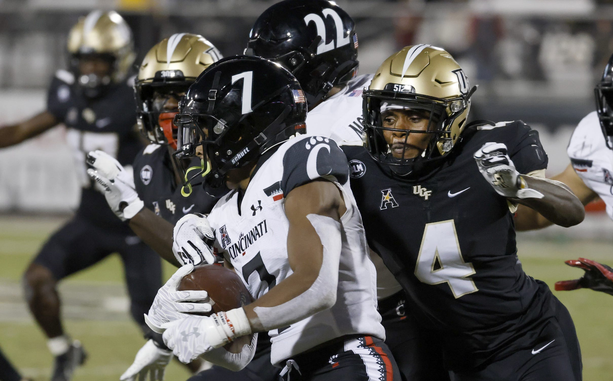Scouting report: A look at the UCF Knights, the next opponent for the No. 3/4 UC Bearcats