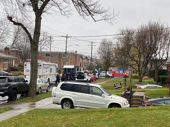The shooting happened around 4 a.m. in the7800 block of New Bedford Avenue