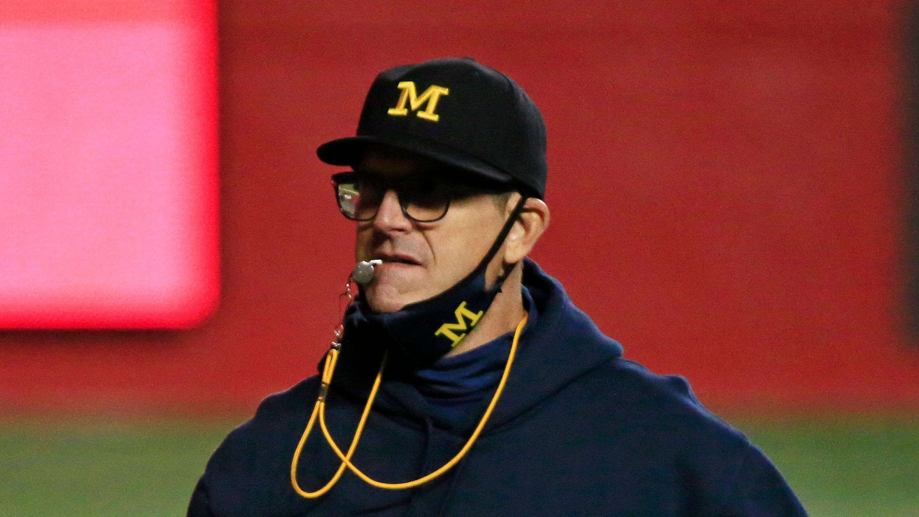 Opinion: Jim Harbaugh's comments after close win vs. Rutgers shows how far Michigan football has fallen