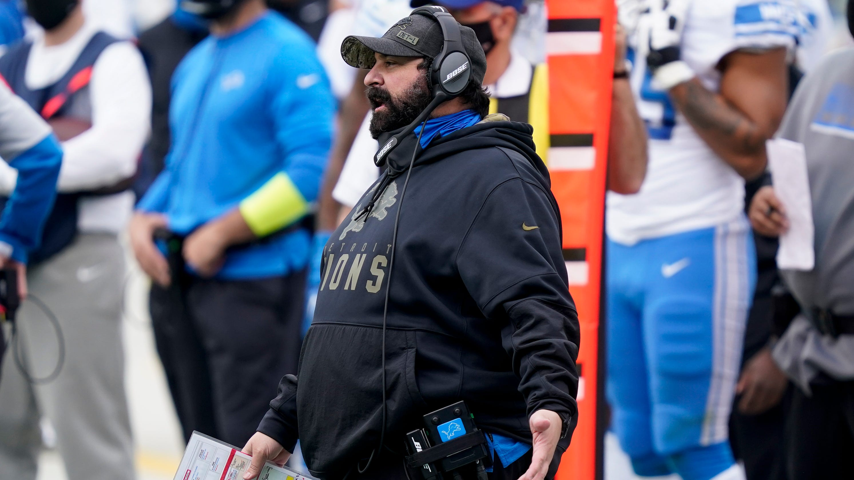 After numbing 20-0 loss, Matt Patricia's days with Detroit Lions are numbered - Detroit Free Press