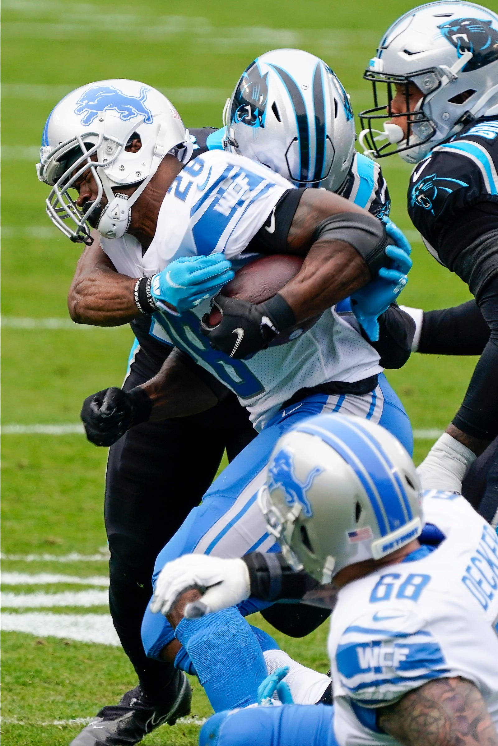 Detroit Lions shut out for first time in 11 years as Carolina Panthers roll
