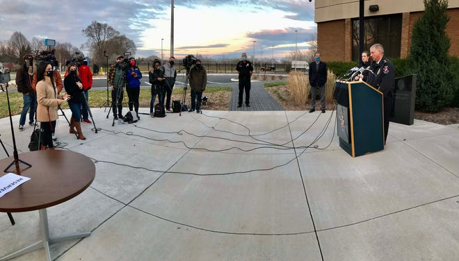Wauwatta Police Chief Barry Weber addressed the media on Sunday during a press conference at the Wauwattosa Police Department.  Weber announced that a 15-year-old boy was arrested Friday afternoon in connection with a shooting at the Mayfair Mall in which eight were injured.