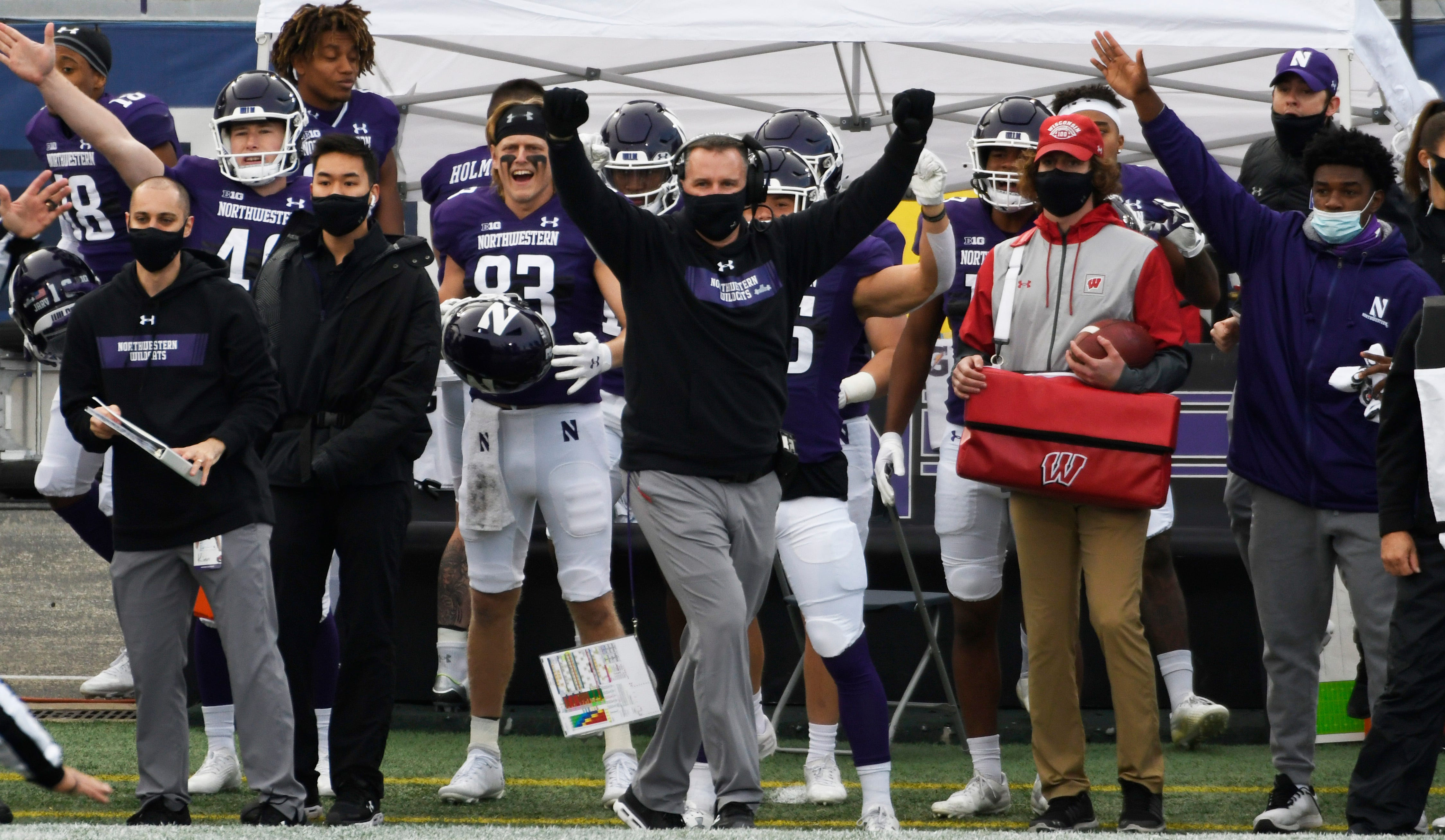 Northwestern credits ESPN analyst Joey Galloway s comments for helping fuel victory against Wisconsin