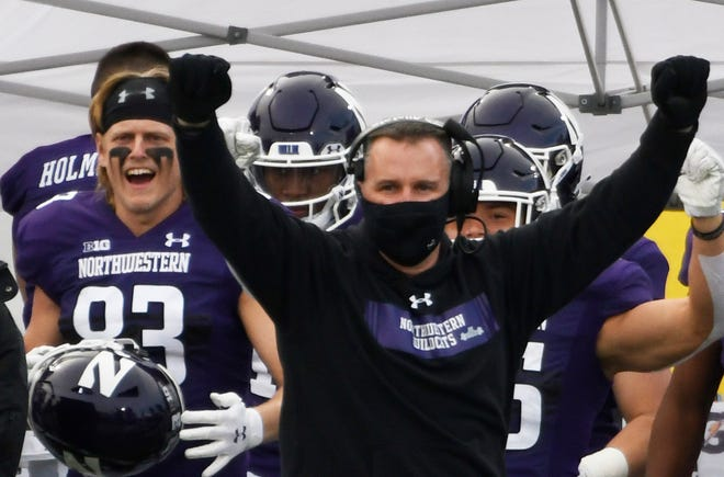 Pat Fitzgerald has his program on the verge of a Big Ten championship game appearance. If Northwestern beats MSU, it wins the West Division.