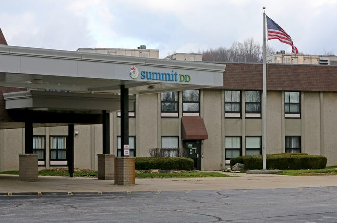 The Summit County DD site is pictured Monday at North Avenue (State Route 91) and Howe Road in Tallmadge.
