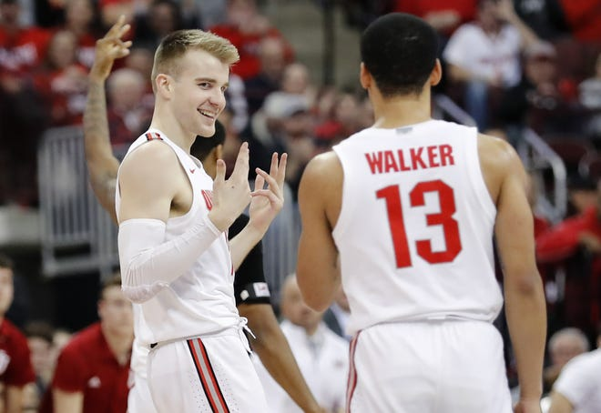 Can junior forward Justin Ahrens be the Buckeyes' secret weapon? He can be if his three-point shooting improves.