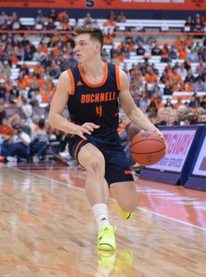Guard Jimmy Sotos started all 34 games for Bucknell last season, leading the team in scoring (11.8 points per game) and assists (3.9).