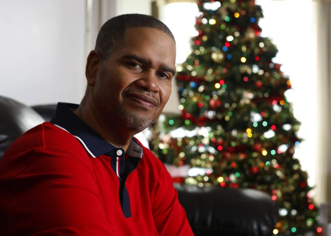 William Sayles received a heart transplant after having bariatric surgery a few years ago, following a heart attack in 2010. Although he's one of the more at-risk populations, he sees COVID-19 as just another thing to get through during the holidays.