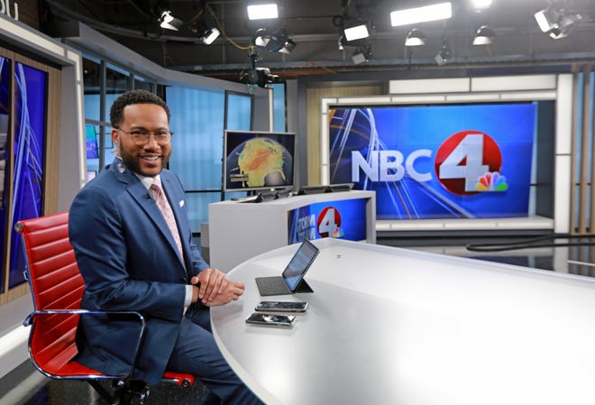 Kerry Charles is a new co-anchor at WCMH. He is from the Linden area and attended Linden-McKinley High School.