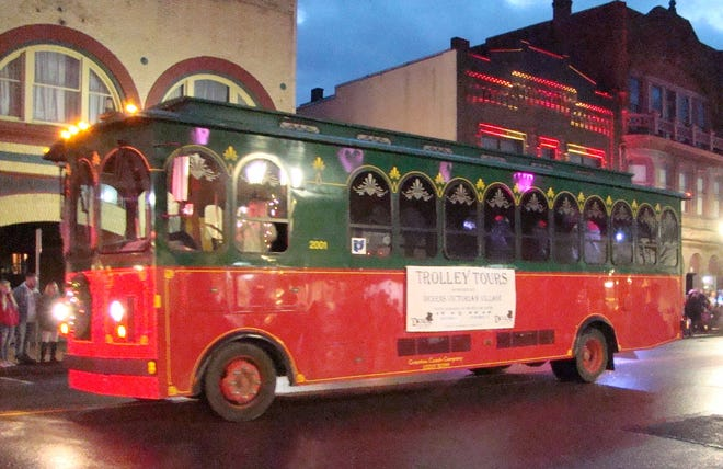 Trolley Tours will take place hourly on Saturday, Nov. 28 before Trolley is in Reverse Christmas Parade.