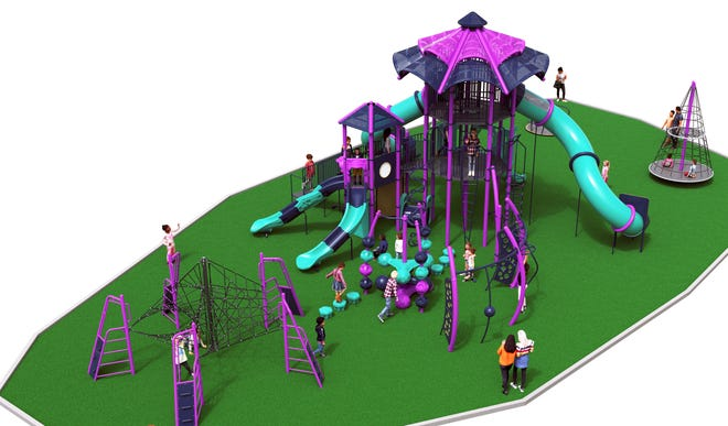 The City of Lexington has approved the purchase of new playground equipment at Finch Park
