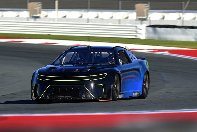 NASCAR's Next Gen car, set to debut in 2022, has been shaken down recently at Charlotte's oval and road course, as well as Daytona's trioval.