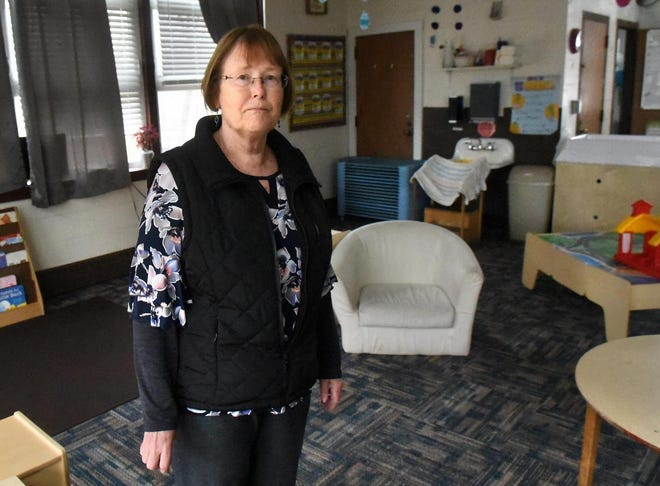 Rochester Child Care Center Executive Director Christiane Casserly, shown in a March file photo, has temporarily closed her center's toddler program out of precaution until Nov. 30 because a staff member has tested positive.