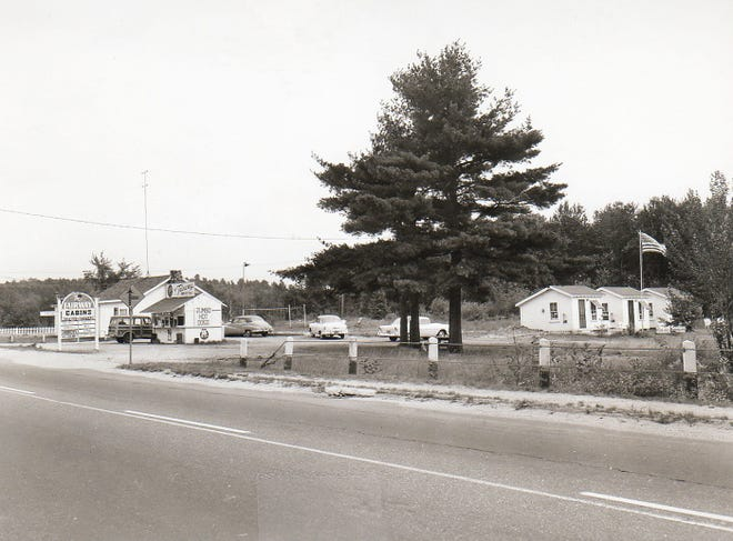 Former site of the Fairway Ballroom and Cabins circa 1965 in Gardner.
