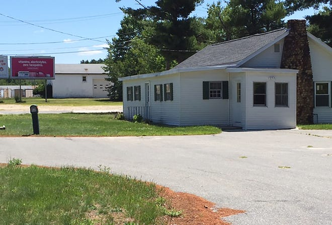 A recent view of the former site of the Fairway Ballroom and Cabins in Gardner.