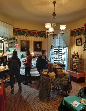 The Stephenson County Historical Museum in Freeport started operating as a craft shop as a way to generate funds since tours have been canceled. The entire downstairs of the home has various items from 20 vendors for sale.