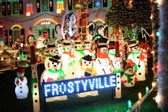 "ABC launches a new season of ""The Great Christmas Light Fight, on Dec. 9."