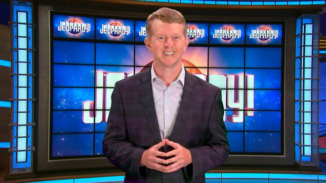 """Ken Jennings, a 74-time """"Jeopardy!"""" champion, was the first interim guest host for the late Alex Trebek."""