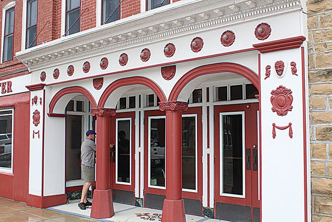 The Constantine Theater, one of Pawhuska's prized civic assets, stands at 110 W. Main St.