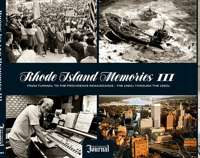 "The third volume of ""Rhode Island Memories"" is now available."