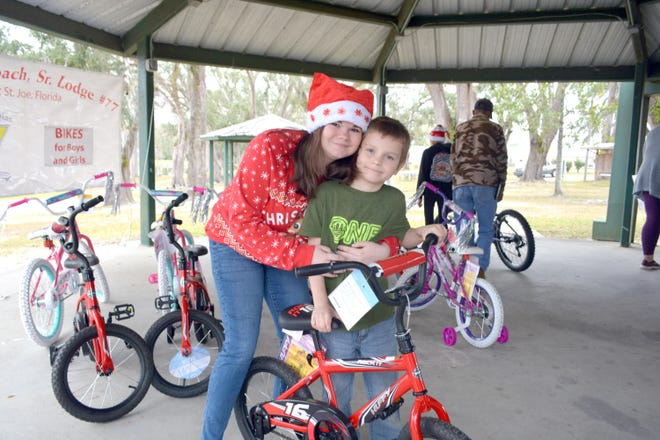 Each year, many deserving children's get a bike for Christmas they would not otherwise receive.