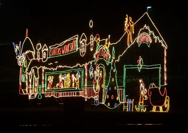 HOLIDAY LIGHTS. Enjoy more than 36 colorful displays at  Holiday Light Up the Park, a drive-thru event running from 5 to 11 nightly through mid-January at Stadium Park in Canton, located between Fulton Road and 12th Street NW. Admission is free.