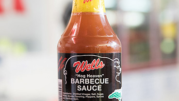 """Wells Pork and Beef's """"Hog Heaven"""" barbecue sauce is a mix of blended spices and vinegar flavor."""