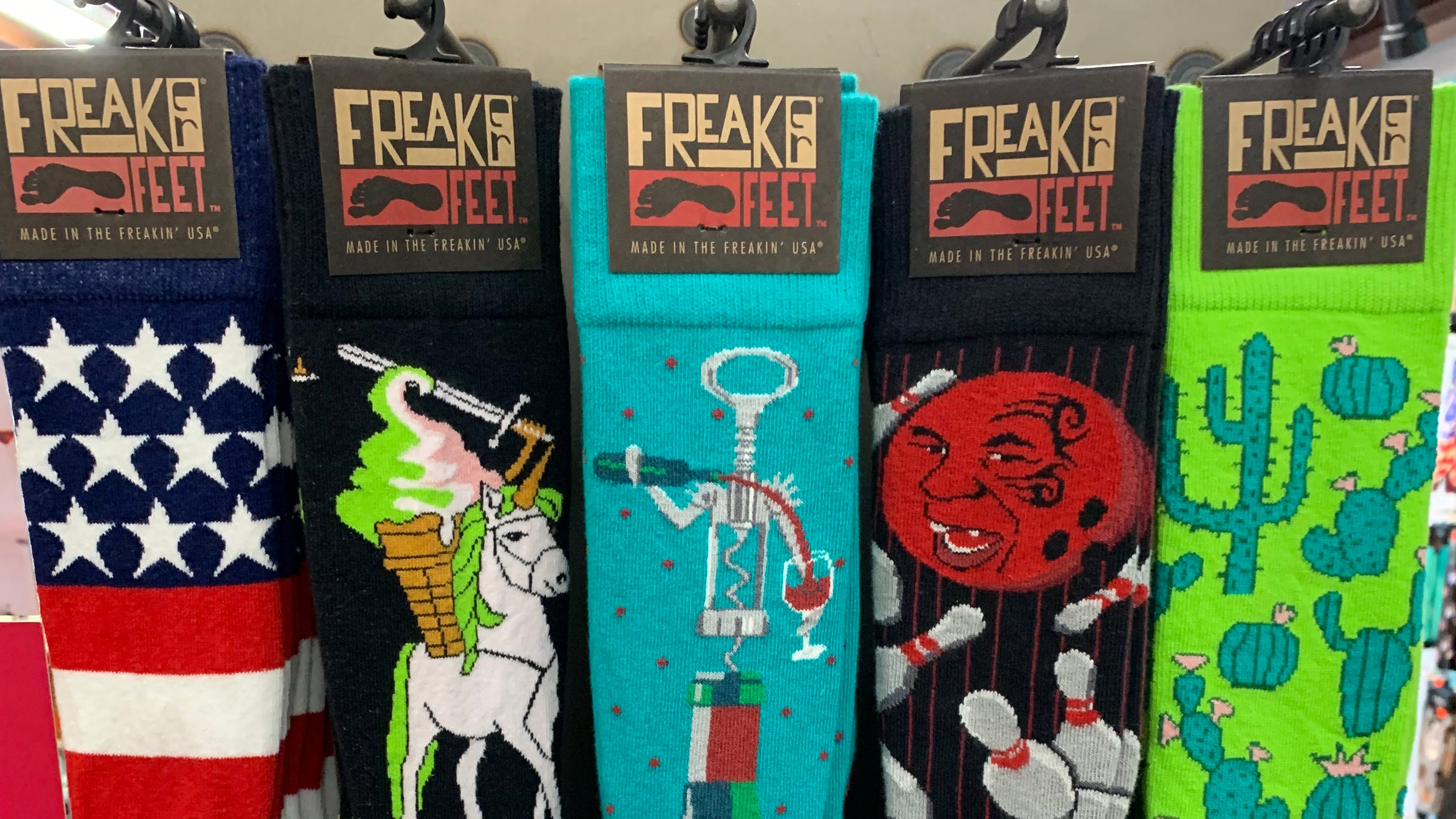 Freaker USA was founded in Wilmington in 2011 and specializes in beverage insulators and socks.