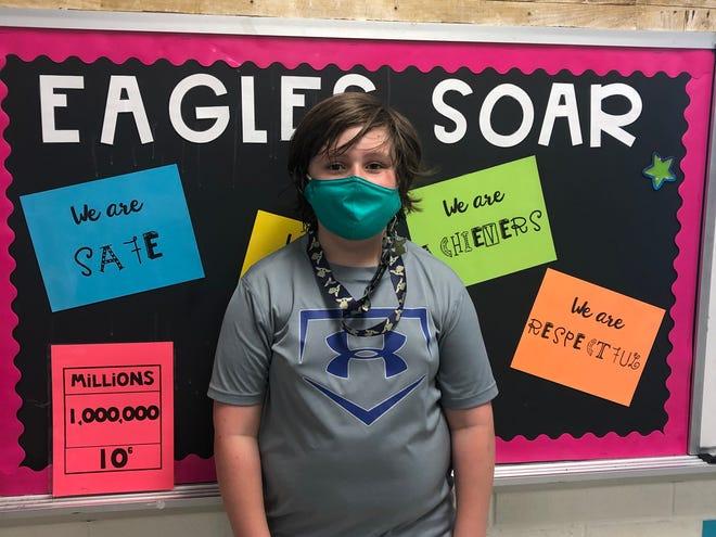 Jack Dexterof Malpass Corner Elementary is Pender County's Student of the Week.