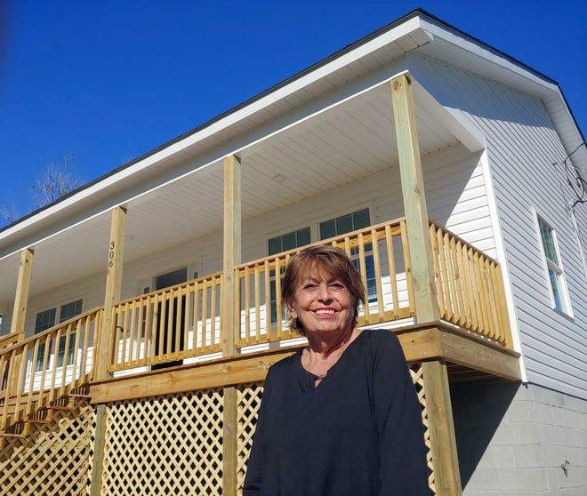 Cancer and flood survivor Judy Stasinopoulos has a new home in Bridgeton, courtesy of the international nonprofit Samaritan's Purse.