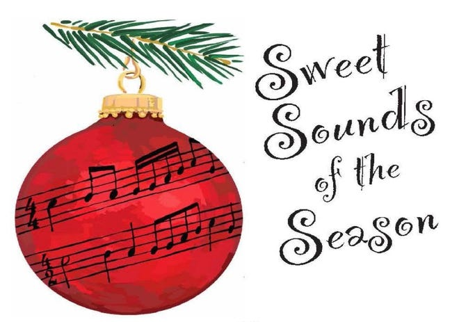 """Possum Point Players will present the musical revue """"Sweet Sounds of the Season,"""" opening Dec. 4 at Possum Hall, 441 Old Laurel Highway, Georgetown."""