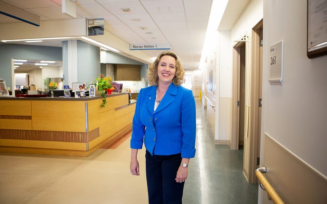 Marcy Jack, Beebe Healthcare's vice president and chief quality and safety officer, was awarded the Delaware Healthcare Association's AHA Grass Roots Champion Award at the Delaware Healthcare Forum, which was recently held virtually.