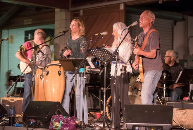 The Shambles will perform classic rock, contemporary blues, cosmic country music and Shambles dance party music from 7 to 9 p.m. today at Celebration Pointe. [FILE]