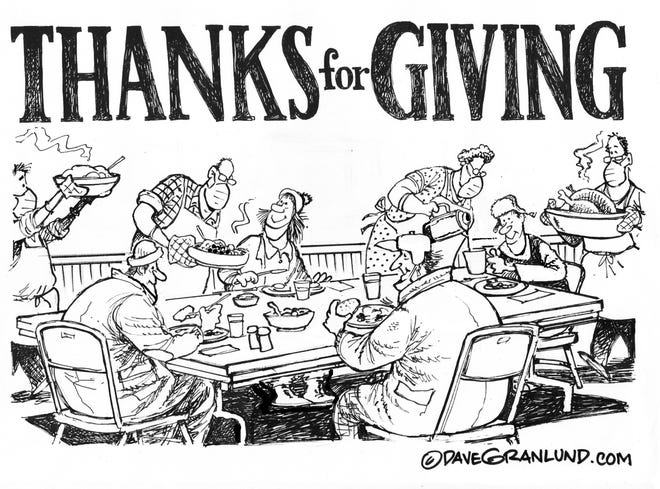 Thank you for giving this Thanksgiving
