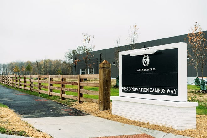 Alene Candles recently opened its second facility at 9485 Innovation Campus Way in New Albany.