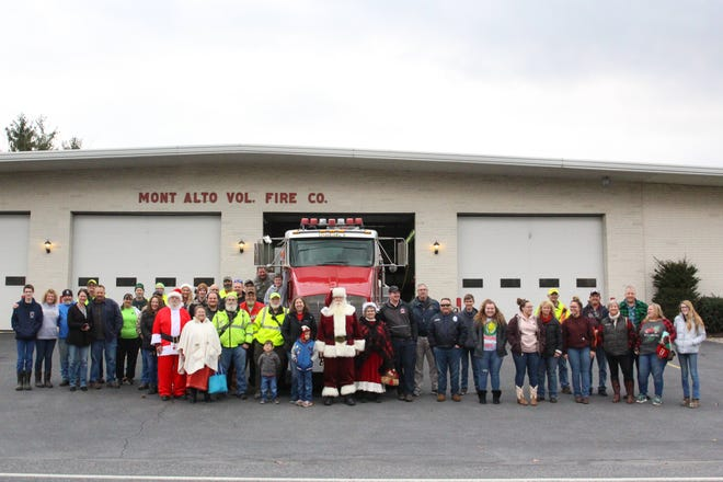 The 2020 Mont Alto Volunteer Fire Company toy drive is currently underway. The drive which serves the greater Waynesboro Area takes close to 75 volunteers to bring Christmas joy to area families.