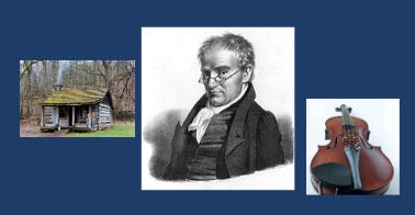 The Concord Conservatory of Music will host an online lecture on Anthony Philip Heinrich, America's log cabin composer.
