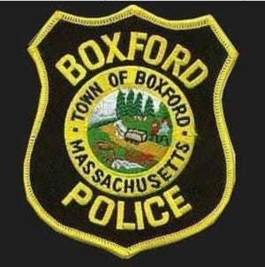 Town of Boxford Police Patch.
