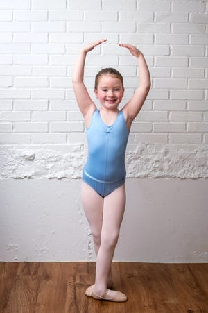 Six-year old Edith Robertson has been taking ballet since she was three.  She is featured in South Shore Ballet Theatre's film version of The Nutcracker this year.