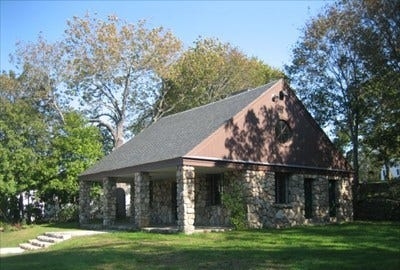 The WPA Building in North Scituate is being considered for a new visitors' center.