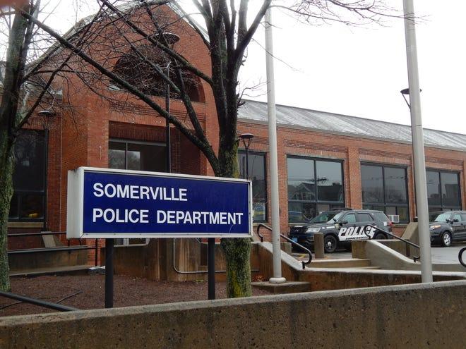 The Somerville Police Department on Washington Street.