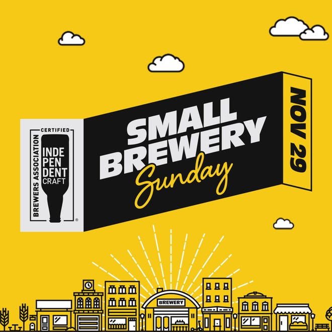 Small Brewery Sunday is Nov. 29