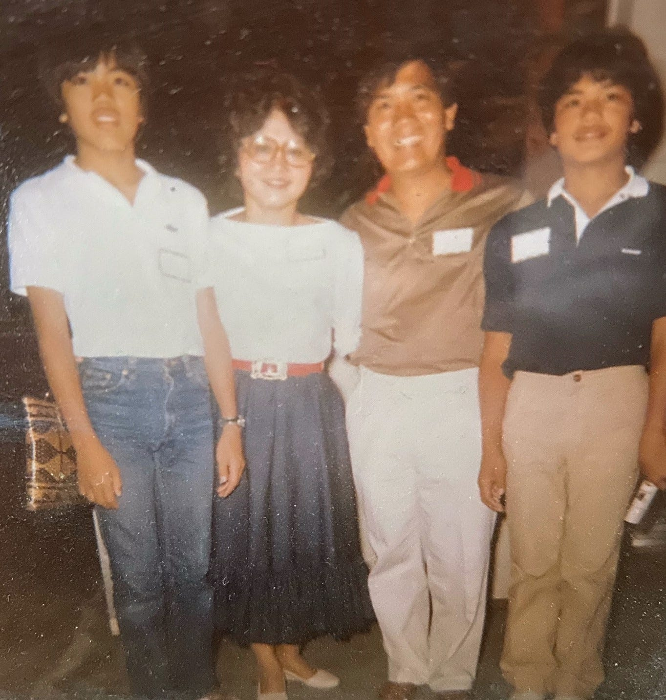 The Laudencia family in the 1970s