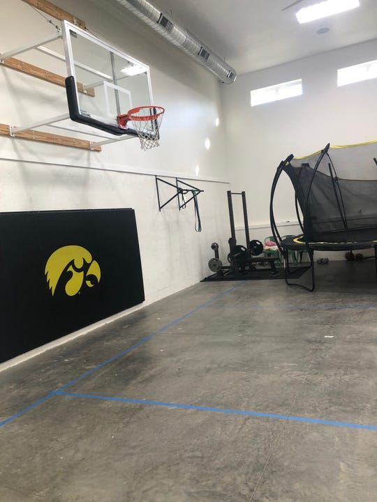 The Larson family barn is where Ashley Joens and her sisters spent much of the summer training.