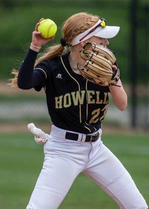 Maddie Springer received honorable mention all-state at shortstop as a sophomore in 2019, hitting .444 with 41 RBI.