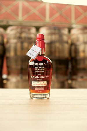 The Community Batch bourbon is a collaboration between The LEE Initiative and Maker's Mark. This special release bourbon was created to support the trade and hospitality industry.