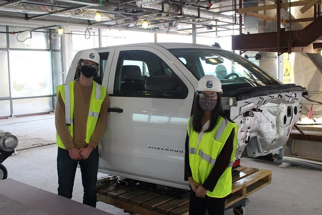 The vehicle was developed with the help of mechanical engineering students at Michigan State University, who brought their expertise to bear on the project as part of their capstone class.