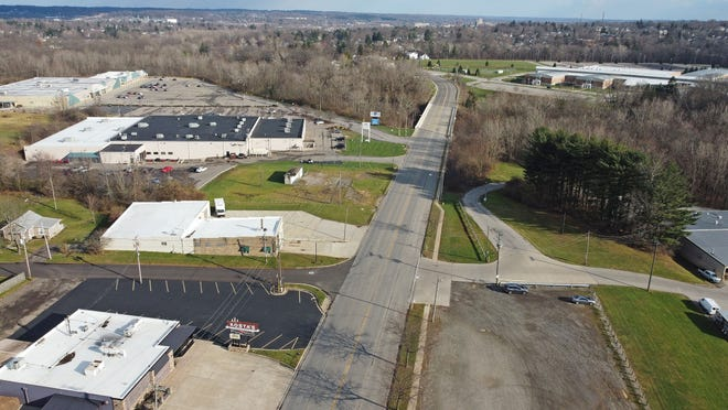 The stretch of Fourth Street between Trimble Road and the bridge over the Richland B&O Bike Trail is slated for resurfacing in 2021.