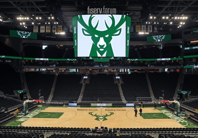 Fiserv Forum will be devoid of fans for Bucks game until further notice due to the COVID-19 pandemic.